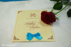 This international Indian wedding is a beautiful, colorful event with lovely stationery.