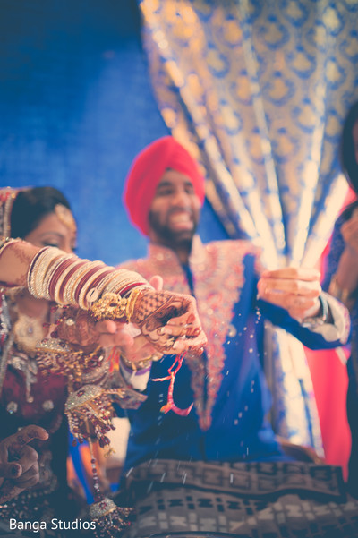 Post-ceremony traditions in Ontario, Canada Indian Wedding by Banga Studios