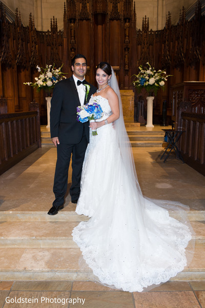 Portraits in Pittsburgh, PA Indian Fusion Wedding by Goldstein Photography