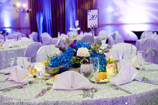 Reception in Pittsburgh, PA Indian Fusion Wedding by Goldstein Photography