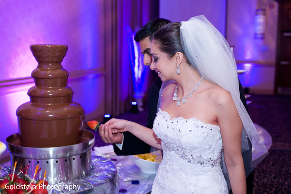 Cakes and treats in Pittsburgh, PA Indian Fusion Wedding by Goldstein Photography