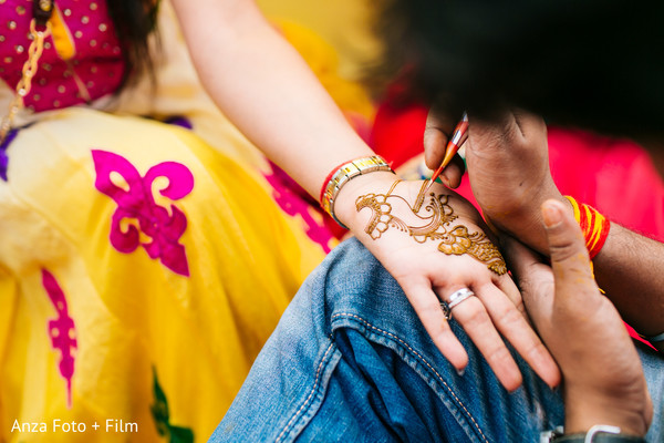 Mehndi Designs in Kolkata, India Destination Wedding by Anza Foto + Film