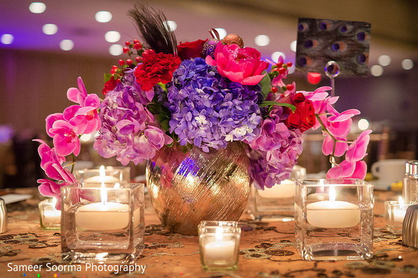 Floral & Decor in Phoenix, Arizona Indian Wedding by Sameer Soorma Photography