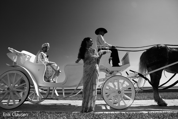 Baraat in Cancun, Mexico Indian Destination Wedding by Erik Clausen