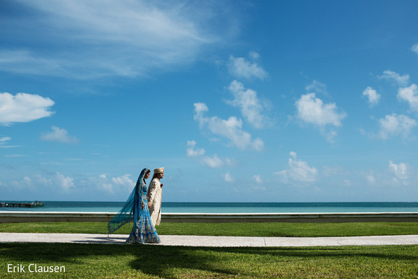 Photo in Cancun, Mexico Indian Destination Wedding by Erik Clausen