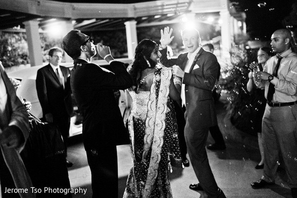 Reception in Seattle, WA Indian Fusion Wedding by Jerome Tso Photography