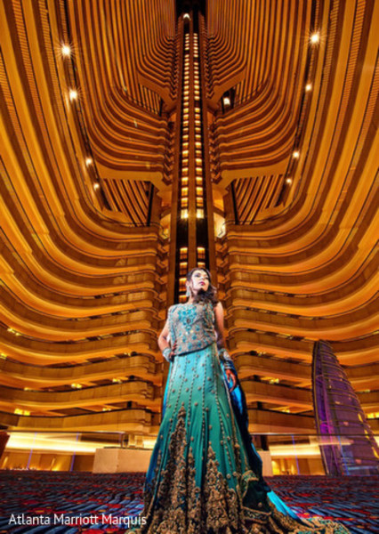 Bridal Fashions in Dream-Come-True Venue: ATL Marriott