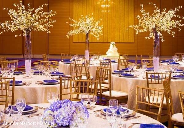 Floral & Decor in Dream-Come-True Venue: ATL Marriott