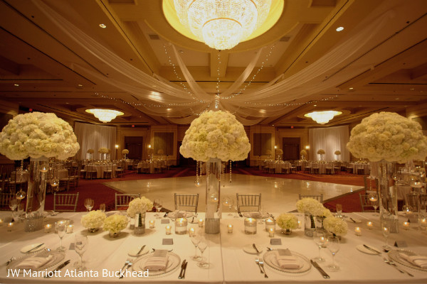 Reception in Dream-Come-True Venue: ATL Marriott