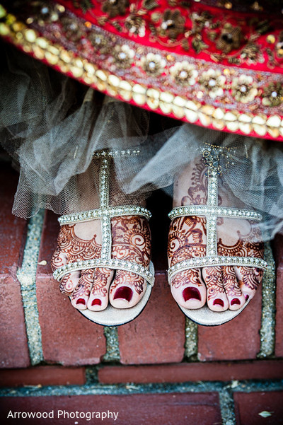 Bridal Fashions in Fremont, CA Indian Wedding by Arrowood Photography