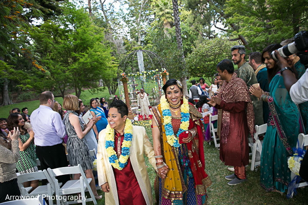 Ceremony in Fremont, CA Indian Wedding by Arrowood Photography