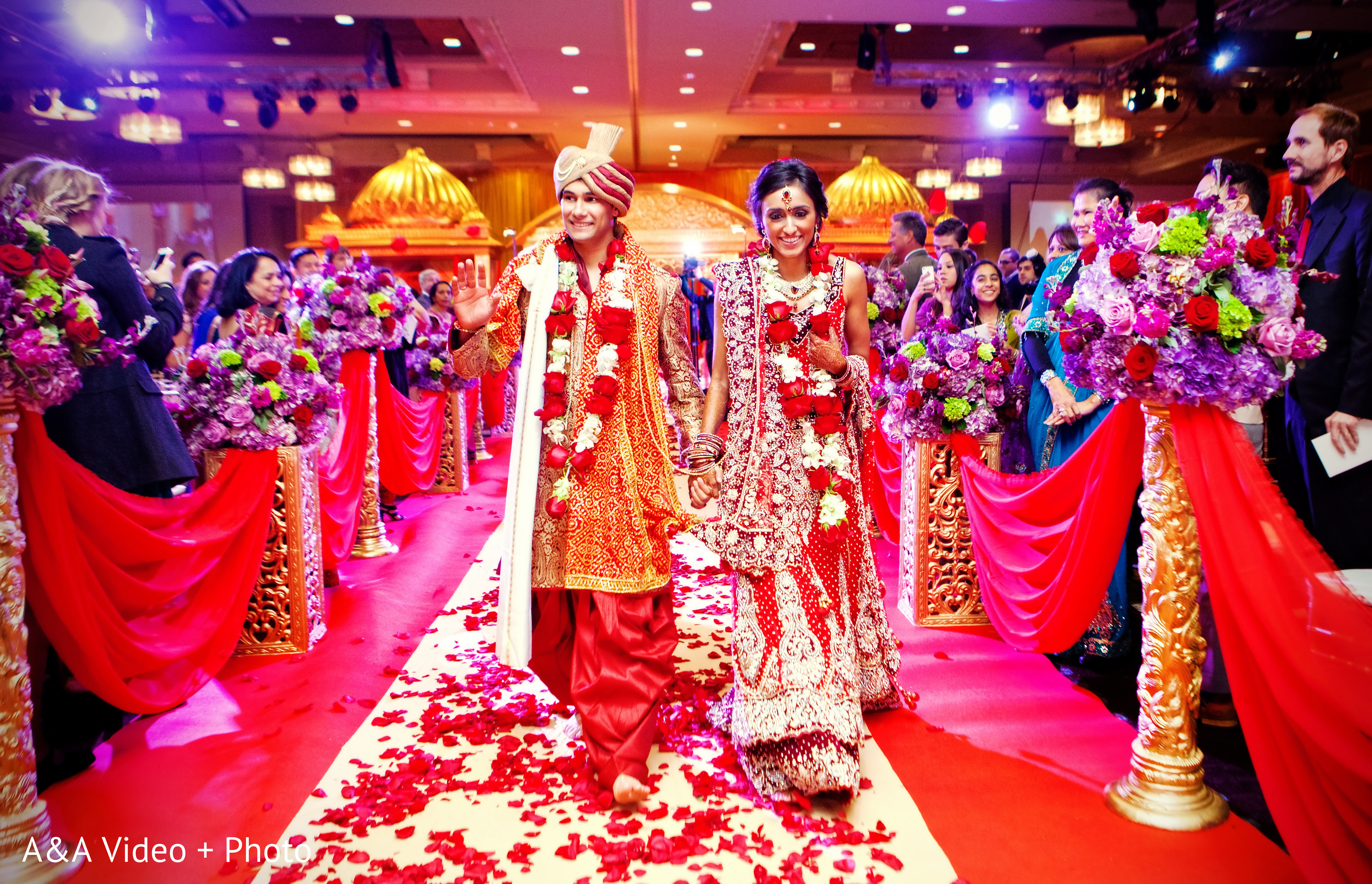 Ceremony In Houston TX Indian Wedding By AampA Video Photo