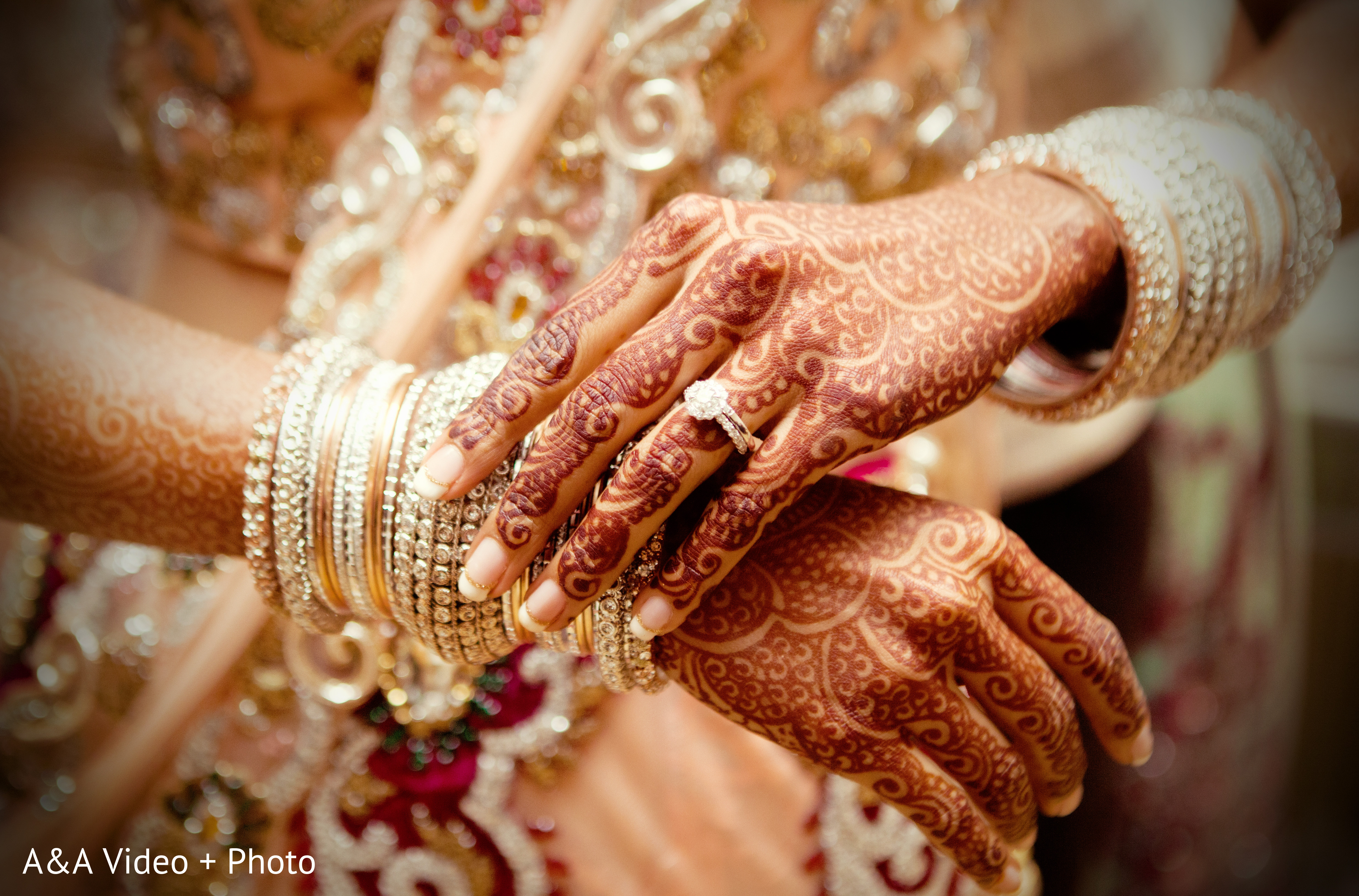 Mehndi Designs In Houston TX Indian Wedding By AampA Video Photo