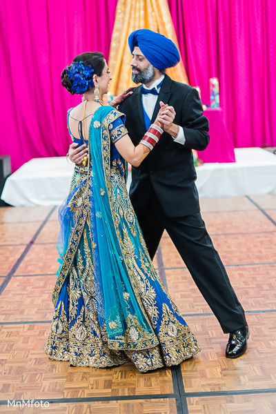 Reception in San Antonio, TX Indian Wedding by MnMfoto