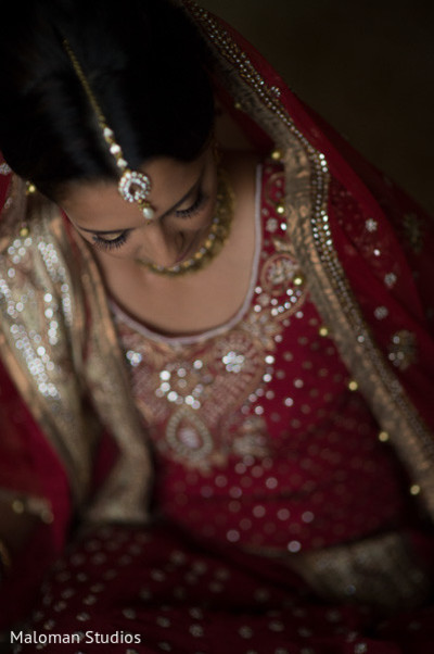 Portraits in Cedar Grove, NJ Indian Fusion Wedding by Maloman Studios
