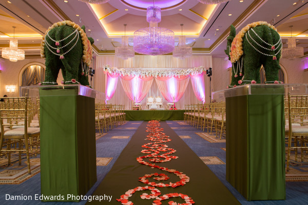 traditional Indian ceremony,decoration,indian wedding decorators,indian wedding decorator,indian wedding ideas,indian wedding decoration ideas,indian wedding decor,floral and decor,indian wedding floral and decor,peach and green decor,peach and green wedding decor,peach and green indian wedding decor