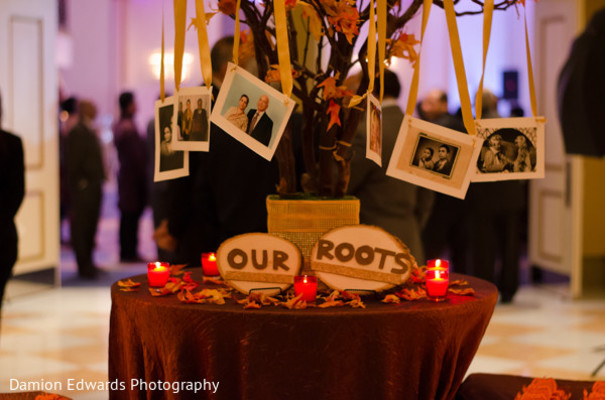 Reception in Cedar Grove, NJ Indian Wedding by Damion Edwards Photography