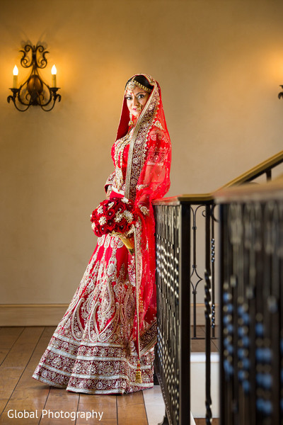 Portraits in Malibu, CA Indian Wedding by Global Photography