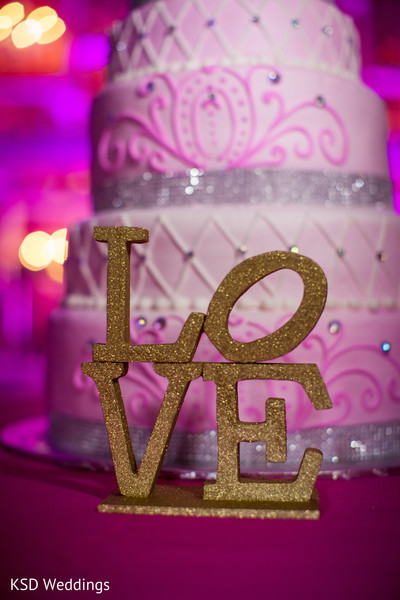 Cakes and Treats in Philadelphia, PA Indian Wedding by KSD Weddings