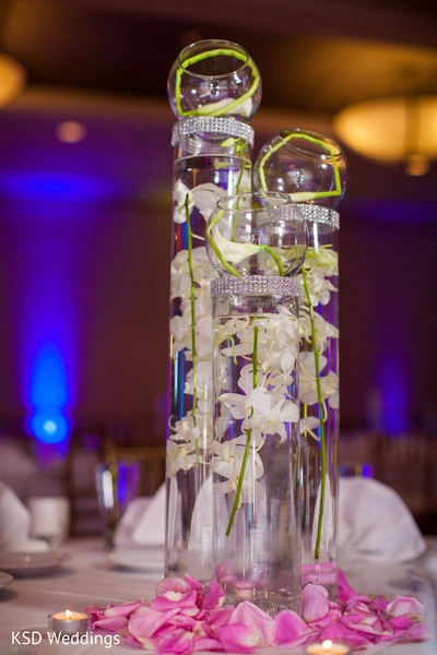 Floral and Decor in Philadelphia, PA Indian Wedding by KSD Weddings