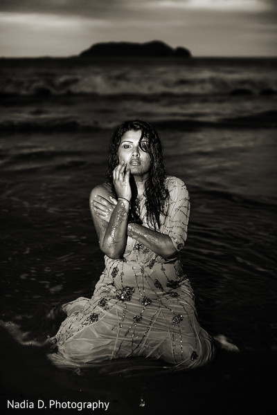 trash the dress,portrait of indian bride,indian bridal portraits,indian bridal portrait,indian bridal fashions,indian bride,indian bride photography,beach portraits