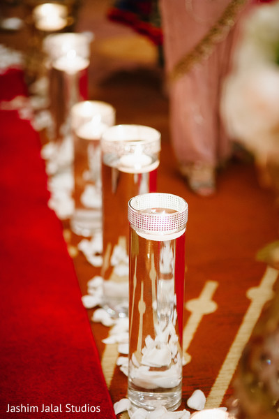 Floral and Decor in Long Island, NY Indian Wedding by Jashim Jalal Studios