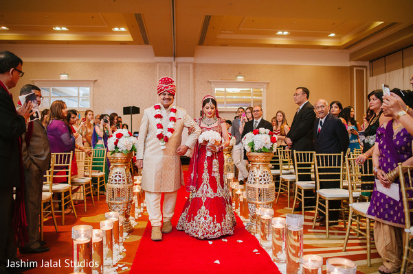 Ceremony in Long Island, NY Indian Wedding by Jashim Jalal Studios