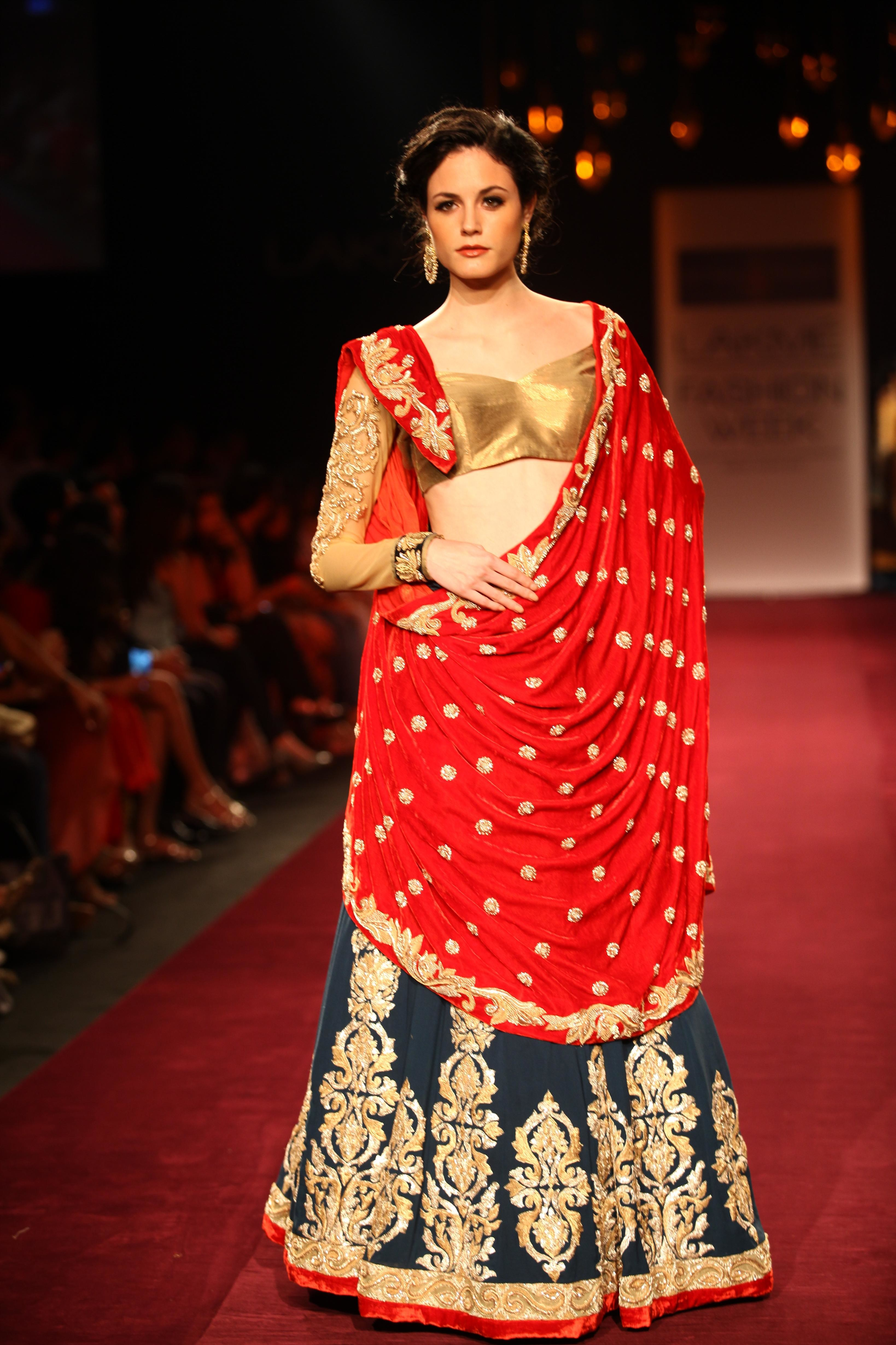Bridal fashions in glam alert shyamal amp bhumika present a new jersey