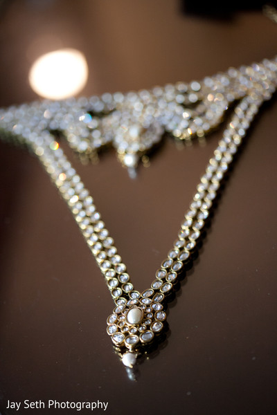 Bridal Jewelry in Mahwah, NJ Indian Wedding by Jay Seth Photography