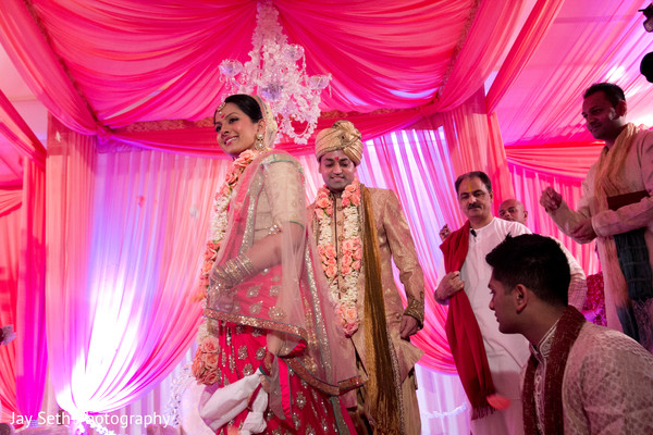 Ceremony in Mahwah, NJ Indian Wedding by Jay Seth Photography