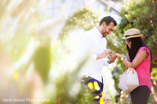 Engagement in Kennett Square, PA Indian Engagement by Sachi Anand Photography