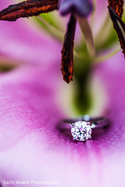 Bridal Jewelry in Kennett Square, PA Indian Engagement by Sachi Anand Photography