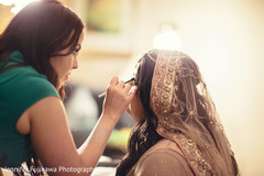 A lovely Pakistani bride gets ready for her big day!