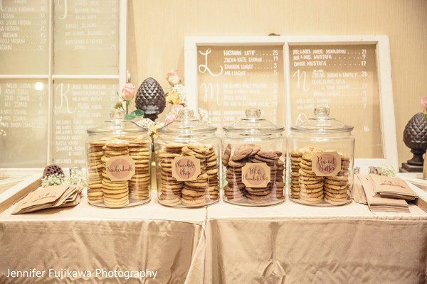Cakes & Treats in Long Beach, CA Pakistani Fusion Wedding by Jennifer Fujikawa Photography