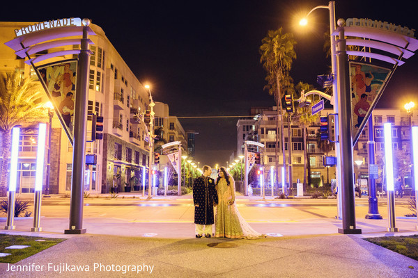Portraits in Long Beach, CA Pakistani Fusion Wedding by Jennifer Fujikawa Photography