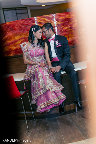 Reception in La Jolla, CA Indian Wedding by RANDERYimagery