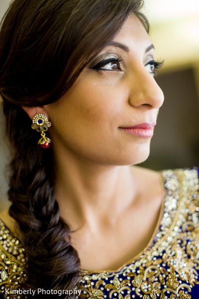 Hair & Makeup in Palm Harbor, FL Indian Wedding by Kimberly Photography