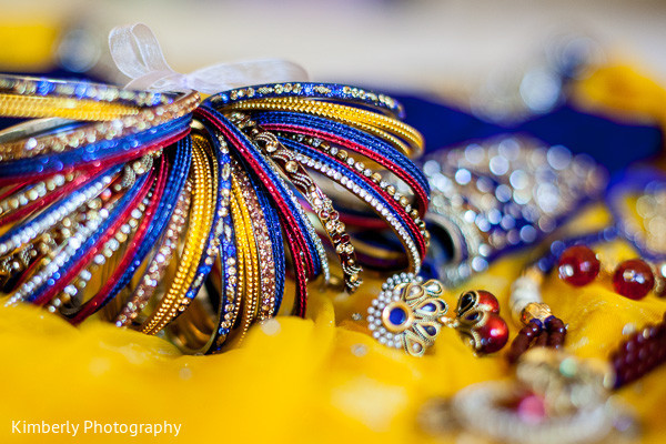 Bridal Jewelry in Palm Harbor, FL Indian Wedding by Kimberly Photography