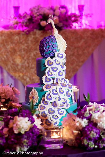 Cakes & Treats in Palm Harbor, FL Indian Wedding by Kimberly Photography
