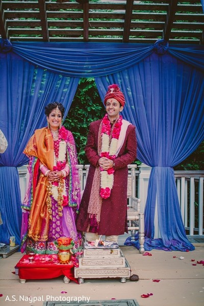 Ceremony in Basking Ridge, NJ Indian Wedding by A. S. Nagpal Photography