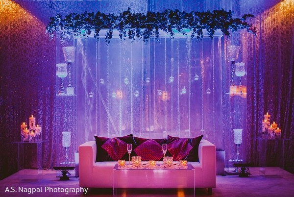 indian wedding decorations,outdoor indian wedding decor,indian wedding decorator,indian wedding ideas,indian wedding reception ideas,indian wedding decoration ideas,indian wedding reception floral and decor,indian wedding reception,indian weddings,purple decor,sweetheart stage,stage,reception stage,reception backdrop,sweetheart table