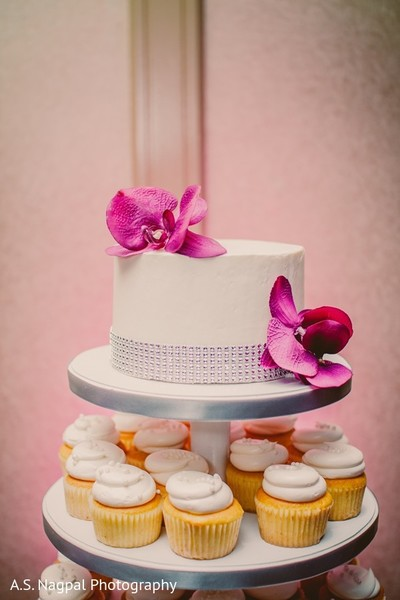 Cakes and Treats in Basking Ridge, NJ Indian Wedding by A. S. Nagpal Photography