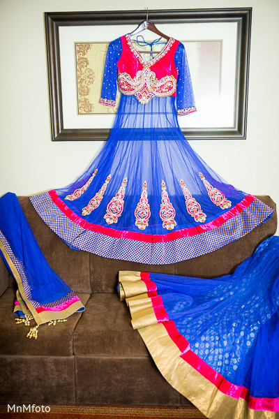 Bridal Fashions in Fort Worth, TX Indian Wedding by MnMfoto