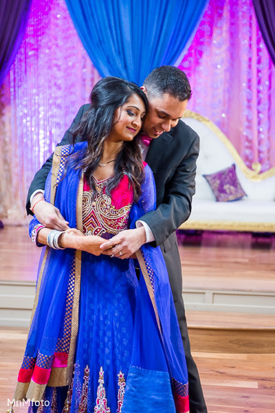 Reception in Fort Worth, TX Indian Wedding by MnMfoto