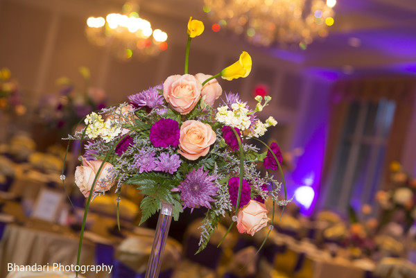 Floral & Decor in Bloomfield Hills, MI Indian Wedding by Bhandari Photography and Cinematography