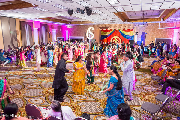 Sangeet in Houston, TX Indian Wedding by MnMfoto