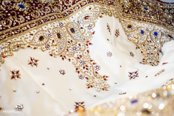 Bridal Fashions in Houston, TX Indian Wedding by MnMfoto