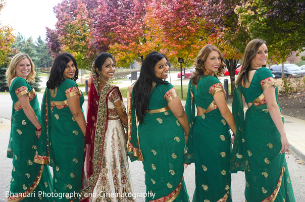 bridal party,bridesmaids,bridemaids outfit,indian bridesmaids,indian bridal party,indian bride,bridesmaid sari,bridesmaids sari,bridesmaids saree,bridesmaid saree