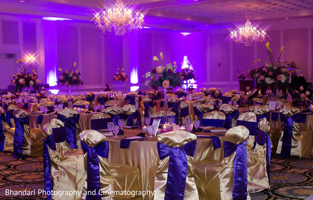 Reception in Bloomfield Hills, MI Indian Wedding by Bhandari Photography and Cinematography