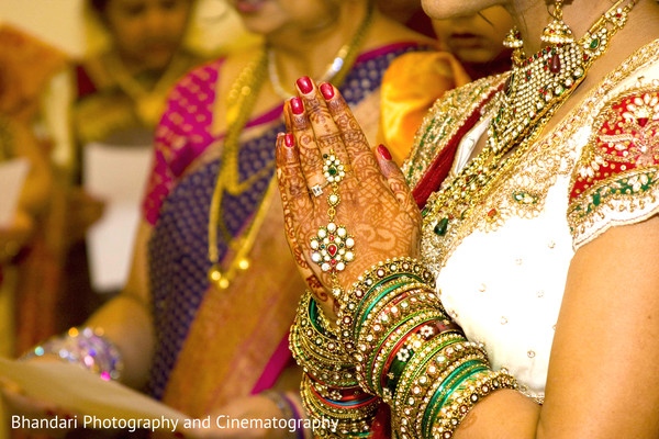 Bridal Jewelry in Bloomfield Hills, MI Indian Wedding by Bhandari Photography and Cinematography